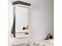 - Wall-mounted electric aluminium towel warmer SHELF - mg12