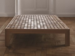 - Low square solid wood coffee table SOFIA | Coffee table - mg12