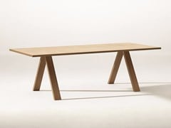 - Rectangular table CROSS | Table - Arper