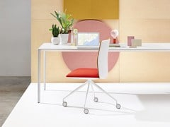 - Swivel task chair KINESIT | Task chair - Arper