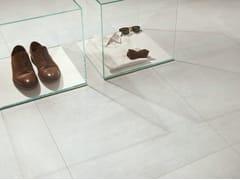 Pavimento/rivestimento in gres porcellanato effetto metalloTRACE VITRO - CERAMICHE CAESAR