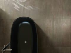 Pavimento/rivestimento in gres porcellanato effetto metalloTRACE BRONZE - CERAMICHE CAESAR
