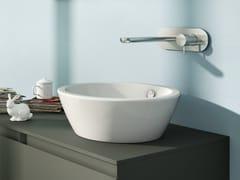 - Countertop round washbasin VELIS 42 - CERAMICA CATALANO