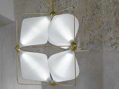 - LED handmade blown glass pendant lamp CLOVER | LED pendant lamp - Lasvit