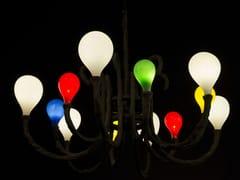 - Handmade blown glass chandelier DAS POP | Chandelier - Lasvit