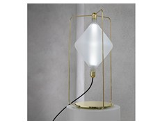 - LED handmade blown glass table lamp CLOVER | Table lamp - Lasvit