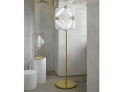 - LED handmade blown glass floor lamp CLOVER | Floor lamp - Lasvit