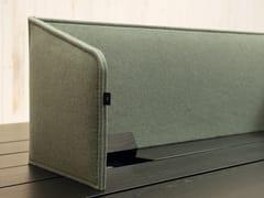 Pannello divisorio da scrivaniaBUZZIDESK FLIPFLOP - BUZZISPACE