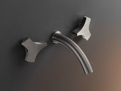 - Wall mounted set of 2 individual taps ZIQ 08 - Ceadesign S.r.l. s.u.