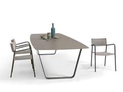 - Ceramic garden table AIR | Ceramic table - MANUTTI