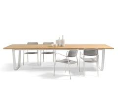 - Wooden garden table AIR | Wooden table - MANUTTI