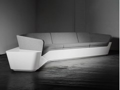 - Corner Solid Surface® sofa MONO SEAT | Configuration 6 - Isomi