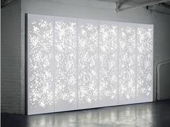 - Solid Surface® wall tiles / room divider LIGHT WALL | Room divider - Isomi