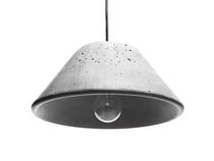 - Concrete pendant lamp MONS 280 - URBI et ORBI