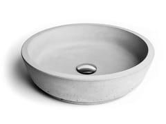 - Countertop concrete washbasin CIRCUM 42 - URBI et ORBI