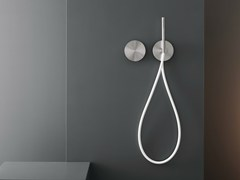 - Dual lever wall mounted mixer with hand shower CIR 04 - Ceadesign S.r.l. s.u.