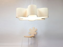 - LED handmade pendant lamp GIANT LOTUS - Lampa