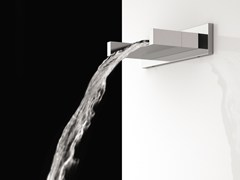 - Wall-mounted waterfall spout FLASH | Spout - Remer Rubinetterie