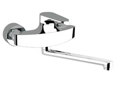 - Wall-mounted kitchen mixer tap with swivel spout CLASS LINE | Wall-mounted kitchen mixer tap - Remer Rubinetterie