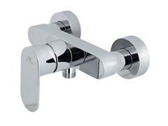 - 2 hole chrome-plated shower mixer HOTELS | Chrome-plated shower mixer - NOKEN DESIGN