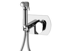 - Chrome-plated single handle shower mixer with hand shower CLASS LINE | Chrome-plated shower mixer - Remer Rubinetterie