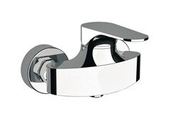 - Contemporary style chrome-plated single handle shower mixer CLASS LINE | Shower mixer - Remer Rubinetterie