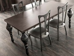 - Rectangular oak table ZOE | Oak table - CorteZari