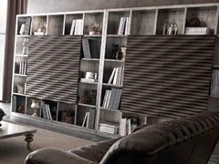 - Freestanding storage wall EBON | Storage wall - CorteZari