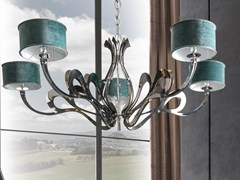 - Nickel chandelier ORIONE-ROLL - CorteZari
