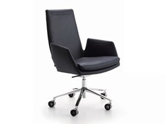 - Task chair with 5-Spoke base with casters CORDIA | Task chair with casters - COR Sitzmöbel Helmut Lübke