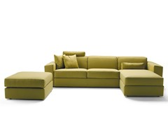 - Sofa bed with chaise longue MELVIN | Sofa with chaise longue - Milano Bedding