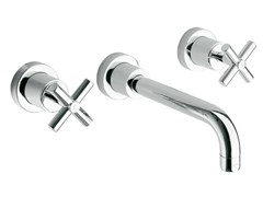 - Wall-mounted washbasin tap with aerator FUTURE | Wall-mounted washbasin tap - NOKEN DESIGN
