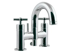 - Bathtub tap with aerator with diverter FUTURE | Chrome-plated bathtub tap - NOKEN DESIGN