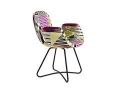 - Fabric easy chair with armrests PATCH TWO | Fabric easy chair - MissoniHome
