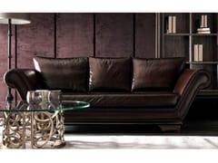 - 3 seater leather sofa HUGO | Leather sofa - CorteZari