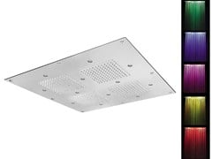 - LED built-in overhead shower for chromotherapy SQ0-L2 | Overhead shower for chromotherapy - Rubinetterie Mariani