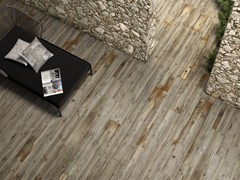 - Porcelain stoneware flooring with wood effect HIGH TECH WOODS | Quercia tropicale - ARIOSTEA