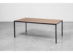 - Rectangular wooden table SUI | Wooden table - Inclass Mobles