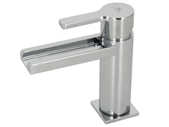 - LED chrome-plated countertop washbasin tap URBAN | LED washbasin mixer - NOKEN DESIGN