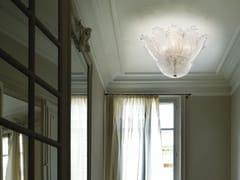 - Blown glass ceiling lamp ACCADEMIA PL 10F - Vetreria Vistosi