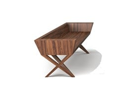 - Wooden bench VIVIAN | Solid wood bench - Belfakto