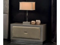 - Rectangular bedside table with drawers KEOPE-SOFT | Bedside table - CorteZari