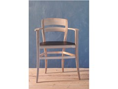 - Beech chair with armrests 2014 | Chair with armrests - Produzione Privata