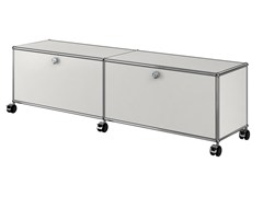 - Metal TV cabinet USM HALLER ENTERTAINMENT UNIT | Metal TV cabinet - USM Modular Furniture