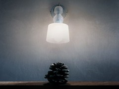 - Blown glass wall lamp ACQUAPARETE - Produzione Privata
