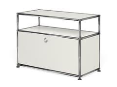 - Metal TV cabinet USM HALLER MEDIA CABINET | TV cabinet - USM Modular Furniture