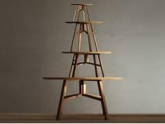- Round oak coffee table BENEDETTO | Coffee table - Produzione Privata