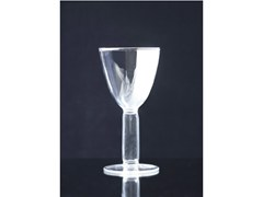 - Blown glass wine glass STRIPPIATTO - Produzione Privata