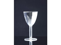 - Blown glass wine glass STRIPTONDO - Produzione Privata
