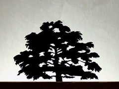 - Burnished iron sculpture CEDRUS LIBANI - Produzione Privata